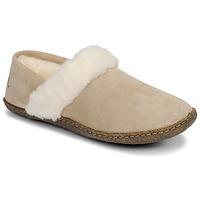 Chaussures Femme Chaussons Sorel NAKISKA™ SLIPPER II Beige