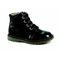 Chaussures Fille Baskets montantes Catimini CAREA VVN NOIR-GRIS DPF/AGNESE
