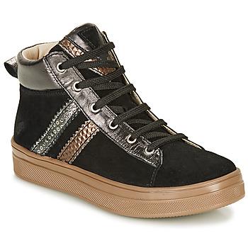 Chaussures Fille Baskets montantes GBB KIBEL Noir