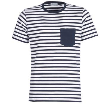 Vêtements Homme T-shirts manches courtes Casual Attitude KARALE Marine / Blanc