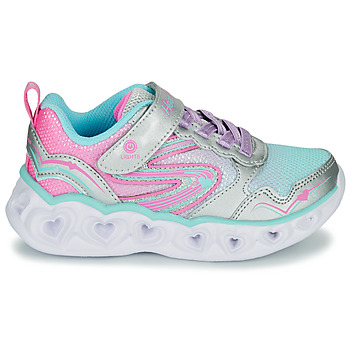 Baskets basses enfant Skechers HEART LIGHTS