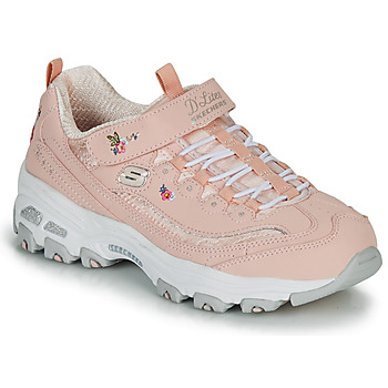 Chaussures Fille Baskets basses Skechers D'LITES Rose