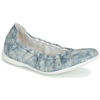 Chaussures Fille Ballerines / babies Ramdam LIBRE Bleu