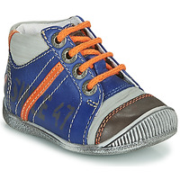 Chaussures Garçon Boots GBB ISIS Bleu / Orange