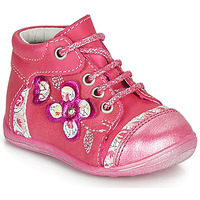 Chaussures Fille Boots Catimini CYLENE Rose