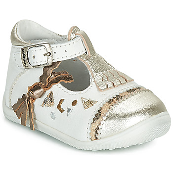 Chaussures Fille Ballerines / babies Catimini CANETTE Blanc