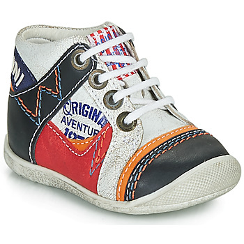 Chaussures Garçon Boots Catimini CACHALOT Blanc