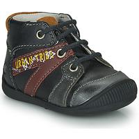 Chaussures Garçon Boots GBB LEWIN Noir