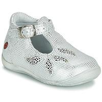 Chaussures Fille Sandales et Nu-pieds GBB MARIE Blanc / Argenté