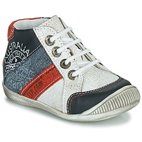 Chaussures Garçon Boots GBB MAURICE Blanc