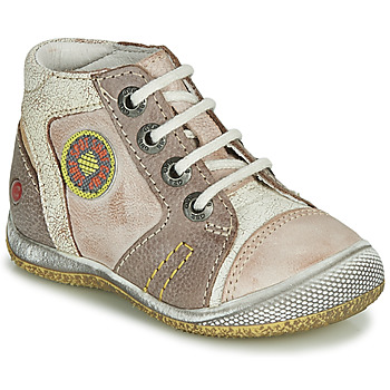 Chaussures Garçon Boots GBB MONTGOMERY Beige