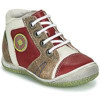 Chaussures Garçon Boots GBB MONTGOMERY Rouge