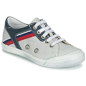 Chaussures Garçon Baskets basses Ramdam KAGOSHIMA Blanc / Bleu