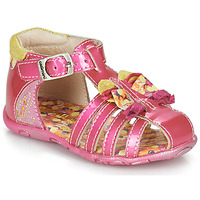 Chaussures Fille Sandales et Nu-pieds Catimini CYGNE Rose