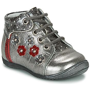 Chaussures Fille Boots GBB NAYANA Argenté