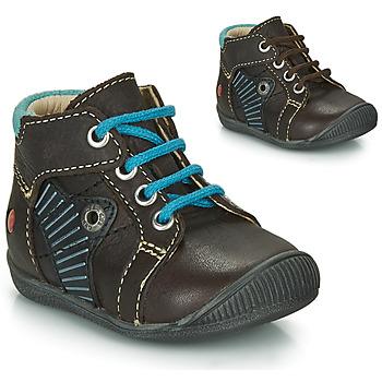 Chaussures Garçon Boots GBB NATALE Marron / Bleu
