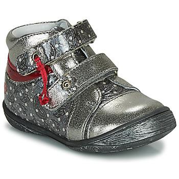Chaussures Fille Boots GBB NICOLINE Argenté