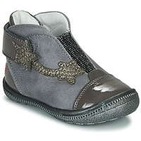 Chaussures Fille Boots GBB NOLWENN Gris