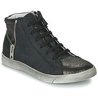 Chaussures Fille Baskets montantes Achile CARLA Noir