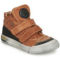 Chaussures Garçon Baskets montantes Achile HUGO Cognac