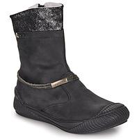 Chaussures Fille Boots Ikks HILLARY Noir