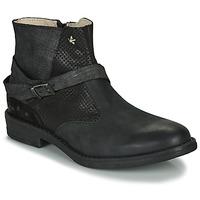 Chaussures Fille Boots Ikks JANE Noir