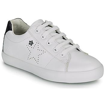 Chaussures Fille Baskets basses Ikks MOLLY Blanc / Noir