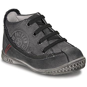 Chaussures Garçon Boots Ikks STEVEN Anthracite