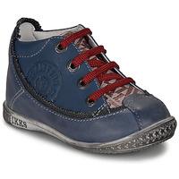 Chaussures Garçon Boots Ikks STEVEN Marine / Rouge