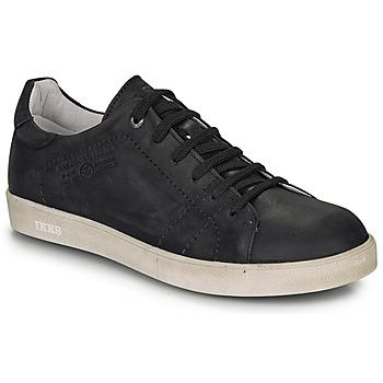 Chaussures Garçon Baskets basses Ikks JACOB Noir