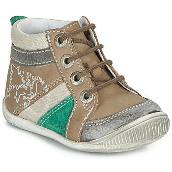 Chaussures Garçon Boots GBB PRAGUE Marron