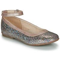 Chaussures Fille Ballerines / babies Achile DANIELA Rose