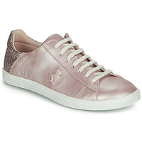 Chaussures Fille Baskets basses Achile PAULA Rose