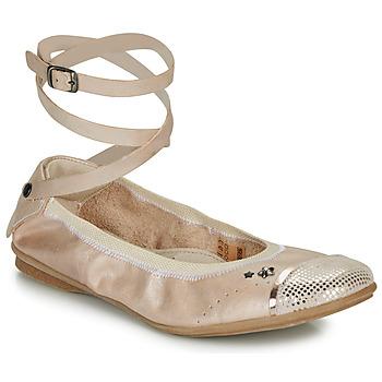 Chaussures Fille Ballerines / babies Ikks EMILY Beige