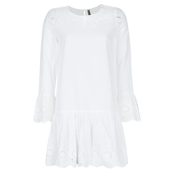 Vêtements Femme Robes courtes Only ONLALBERTHE Blanc
