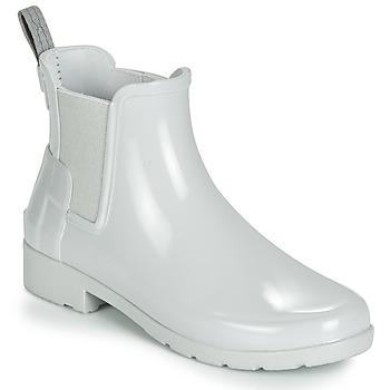Chaussures Enfant Bottes de pluie Hunter ORIGINAL KIDS Gris