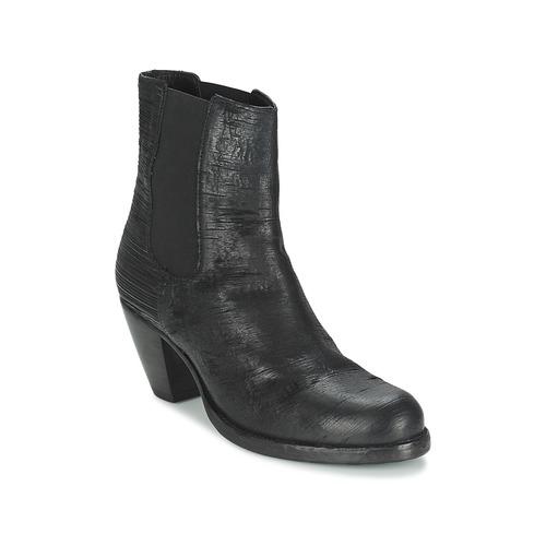 Chaussures Femme Bottines Fred de la Bretoniere ALMERE Noir