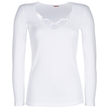Sous-vêtements Femme Maillots de corps Damart CLASSIC GRADE 3 Blanc