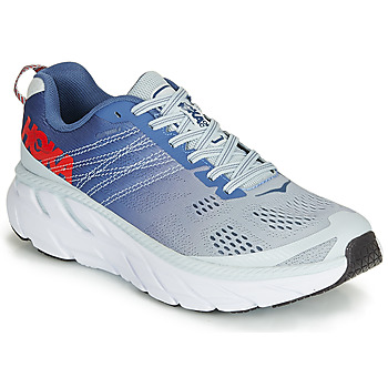 Chaussures Femme Running / trail Hoka one one CLIFTON 6 Bleu