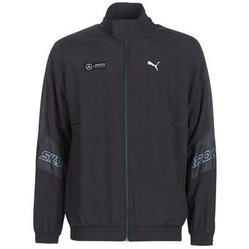 Vêtements Homme Vestes de survêtement Puma MAPM STREET WOVEN JACKET MERCEDES Noir