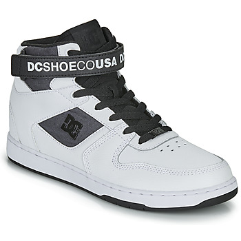 Chaussures Homme Baskets montantes DC Shoes PENSFORD SE Blanc / Noir