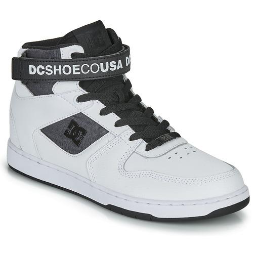 Chaussures Homme Baskets montantes DC Shoes PENSFORD SE Blanc / Noir