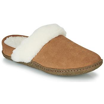 Chaussures Femme Chaussons Sorel NAKISKA SLIDE II Camel