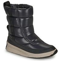 Chaussures Femme Bottes de neige Sorel OUT N ABOUT PUFFY MID Noir