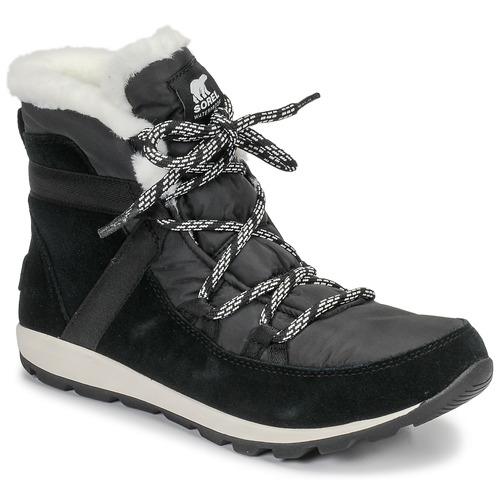 Chaussures Femme Boots Sorel WHITNEY FLURRY Noir