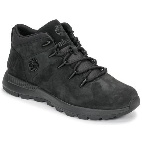 Chaussures Homme Boots Timberland EURO SPRINT TREKKER Noir