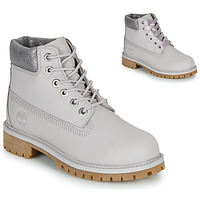 Chaussures Enfant Boots Timberland 6 IN PREMIUM WP BOOT Gris