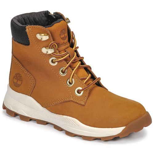 Chaussures Enfant Baskets montantes Timberland BROOKLYN SNEAKER BOOT Marron