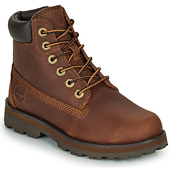 Chaussures Enfant Boots Timberland COURMA KID TRADITIONAL6IN Marron
