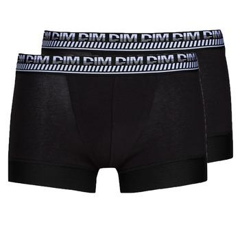 Sous-vêtements Homme Boxers DIM 3D FLEX STAY & FIT X 2 Noir